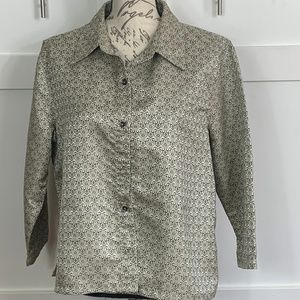 VINTAGE FRENCH LAUNDRY BLOUSE